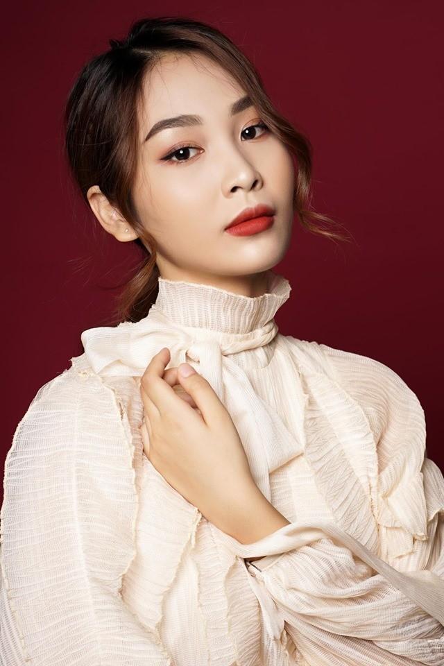 Nữ sinh đạt 9 điểm môn Văn dự thi Hoa hậu Việt Nam 2020 ảnh 1