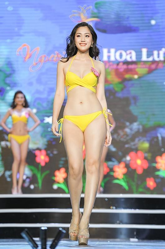 Thí sinh Hoa hậu Việt Nam 2020 khoe dáng cực phẩm với bikini ảnh 13