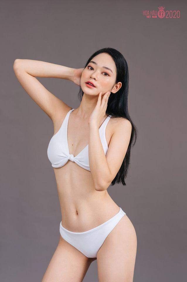 Thí sinh Hoa hậu Việt Nam 2020 khoe dáng cực phẩm với bikini ảnh 4