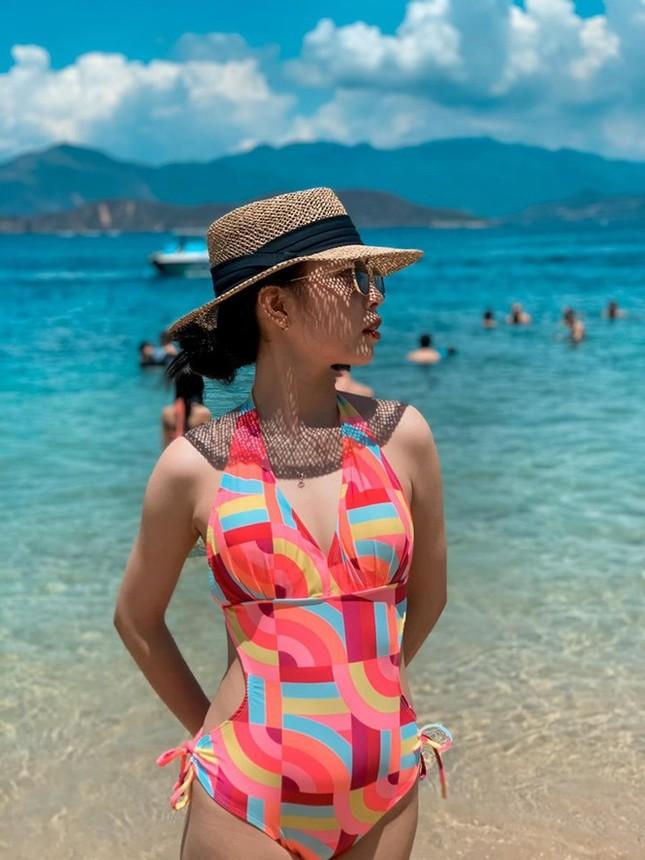 Thí sinh Hoa hậu Việt Nam 2020 khoe dáng cực phẩm với bikini ảnh 6
