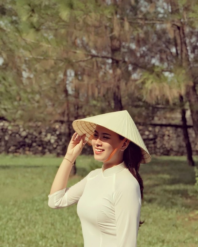 Hoa khôi Nét đẹp Du lịch Huế dự thi Hoa hậu Việt Nam 2020 ảnh 4