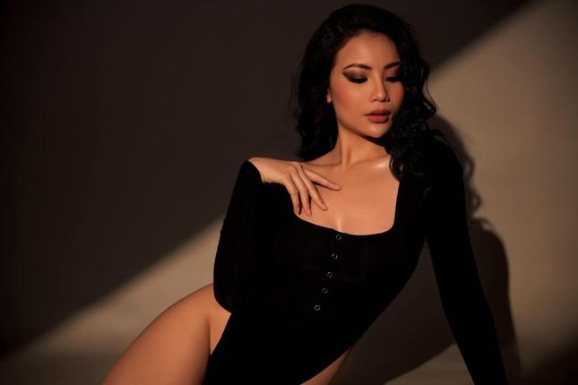 Mẫu nữ sở hữu đường cong siêu nóng bỏng dự thi Hoa hậu Việt Nam 2020 ảnh 2