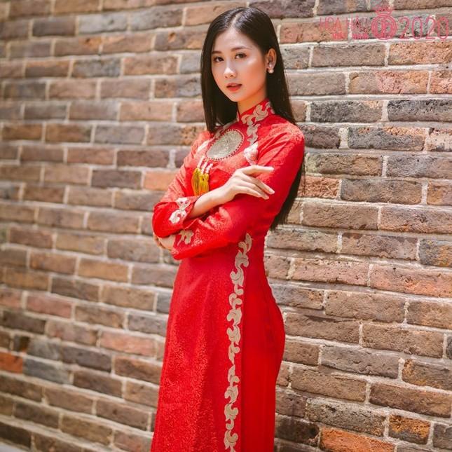 Nhan sắc gây mê của Á khôi Đại học Huế dự thi Hoa hậu Việt Nam 2020 ảnh 6