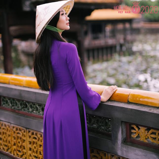 Nhan sắc gây mê của Á khôi Đại học Huế dự thi Hoa hậu Việt Nam 2020 ảnh 8