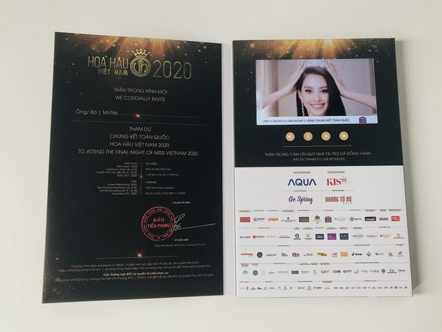 Hé lộ vé mời đặc biệt tham dự đêm Chung kết toàn quốc Hoa Hậu Việt Nam 2020 ảnh 3