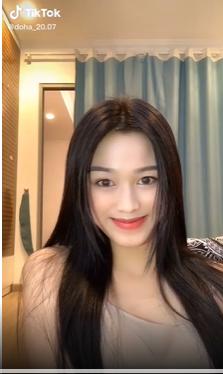 Chia sẻ clip đời thường, Hoa hậu Đỗ Thị Hà được khen xinh đẹp tự nhiên ảnh 3