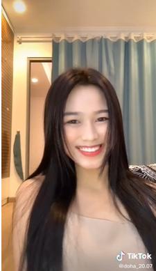Chia sẻ clip đời thường, Hoa hậu Đỗ Thị Hà được khen xinh đẹp tự nhiên ảnh 4
