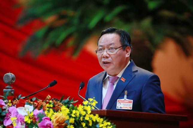 Hình ảnh đại biểu trình bày tham luận tại Đại hội XIII của Đảng ảnh 4