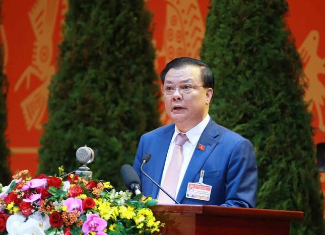Hình ảnh đại biểu trình bày tham luận tại Đại hội XIII của Đảng ảnh 6