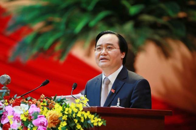 Hình ảnh đại biểu trình bày tham luận tại Đại hội XIII của Đảng ảnh 7