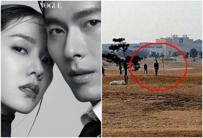 Showbiz 21/2: Rò rỉ hình ảnh Hyun Bin - Son Ye Jin bí mật hẹn hò ở sân golf ảnh 1