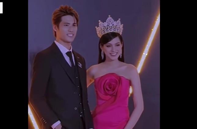Showbiz 22/2: Hoa hậu Đỗ Thị Hà lên tiếng vụ từ chối đồng nghiệp nam ôm eo trên thảm đỏ ảnh 1