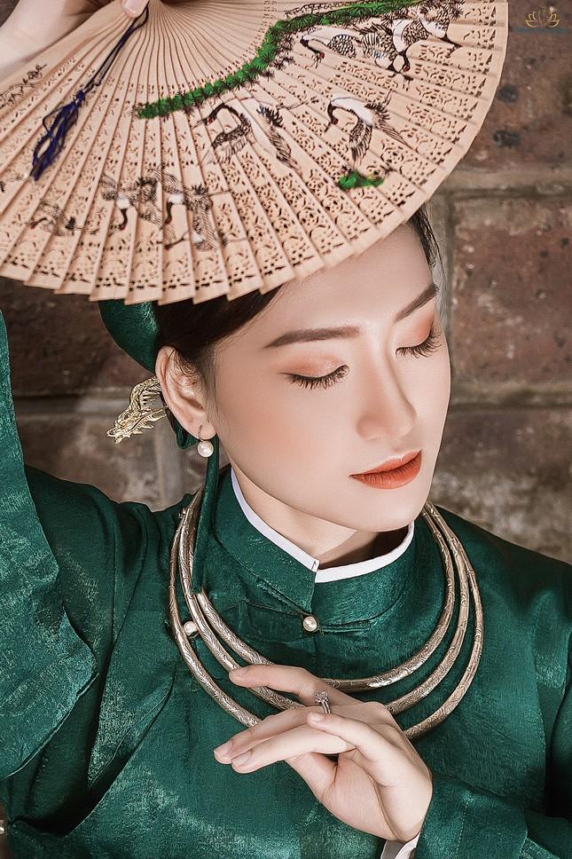 Nhan sắc yêu kiều của Người đẹp Hạ Long từng thi Hoa hậu Việt Nam ảnh 4