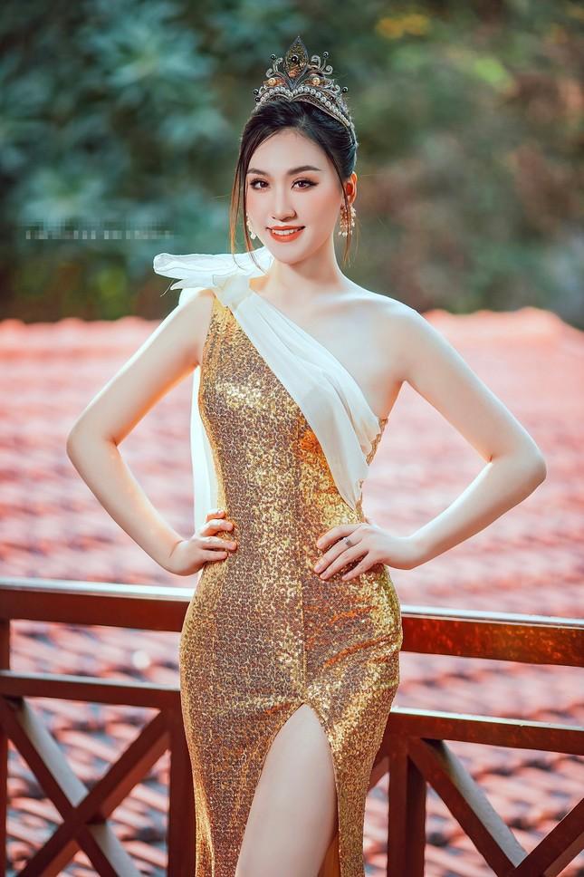 Nhan sắc yêu kiều của Người đẹp Hạ Long từng thi Hoa hậu Việt Nam ảnh 3