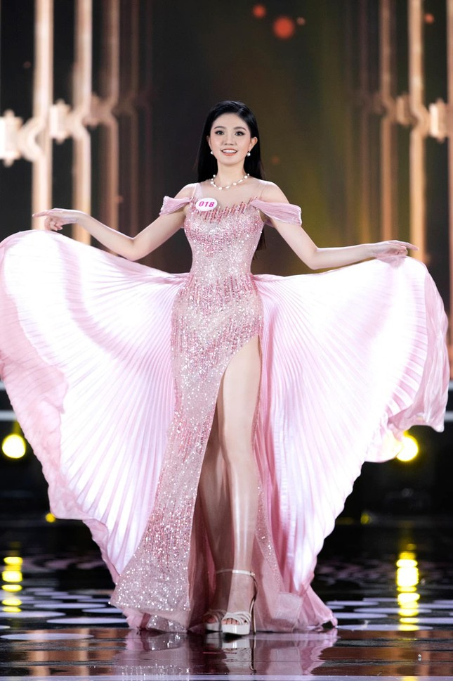 Nhan sắc kiều diễm của Hoa khôi Đại học Hoa sen từng thi Hoa hậu Việt Nam 2020 ảnh 11