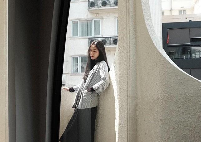 Nhan sắc không tì vết của cô gái có gương mặt đẹp nhất Hoa hậu Việt Nam 2018 ảnh 9