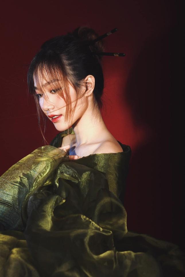 Nhan sắc không tì vết của cô gái có gương mặt đẹp nhất Hoa hậu Việt Nam 2018 ảnh 6
