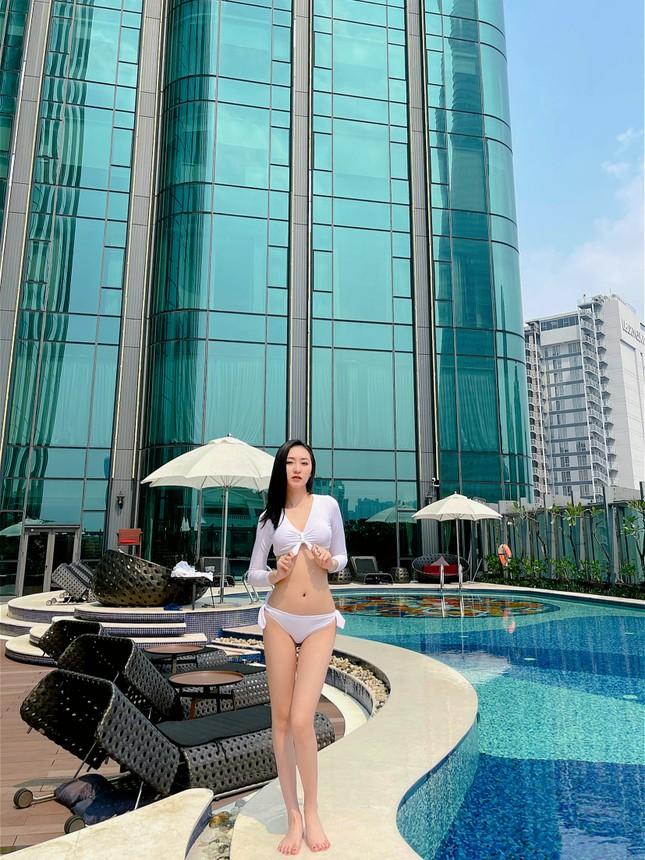 Dàn người đẹp Hoa hậu Việt Nam cực nóng bỏng với bikini ảnh 13