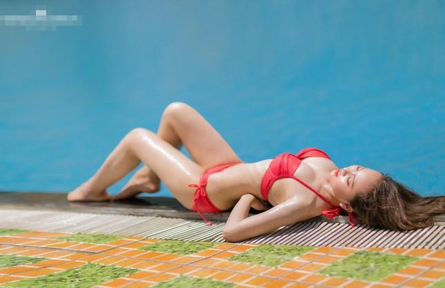 Dàn người đẹp Hoa hậu Việt Nam cực nóng bỏng với bikini ảnh 4