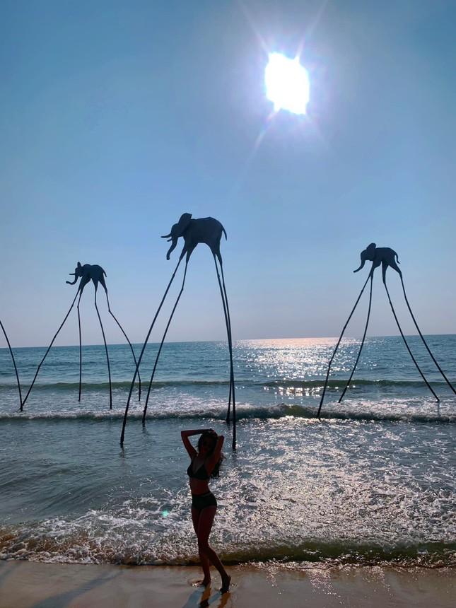 Dàn người đẹp Hoa hậu Việt Nam cực nóng bỏng với bikini ảnh 11
