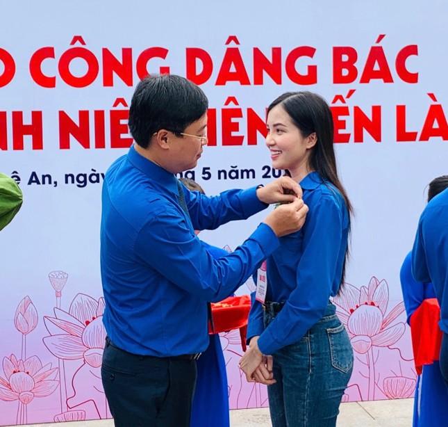 Hoa khôi Huỳnh Thúy Vi háo hức tham gia giải chạy báo Tiền phong ảnh 2