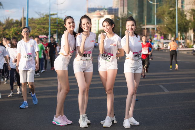 Hoa khôi Huỳnh Thúy Vi háo hức tham gia giải chạy báo Tiền phong ảnh 5