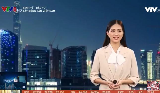 Người đẹp Kinh Bắc từng thi Hoa hậu Việt Nam dẫn bản tin Bất động sản của VTV ảnh 2
