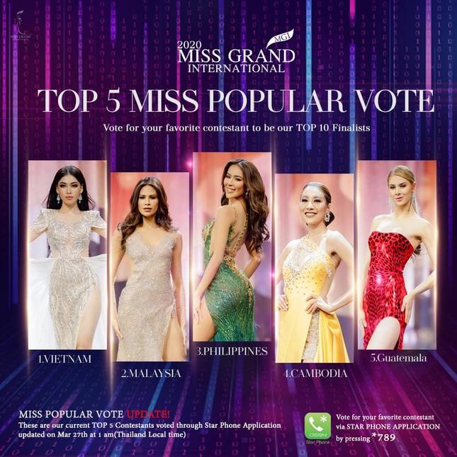 Xem trực tiếp á hậu Ngọc Thảo đang thi Chung kết Miss Grand ở đâu? ảnh 1