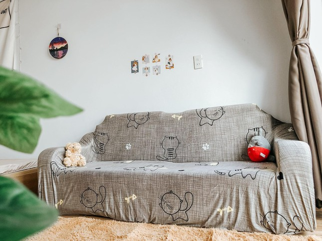 Cô gái 25 tuổi tích góp tiền trong ba tháng xây nhà tặng bố mẹ đẹp như mơ ảnh 9