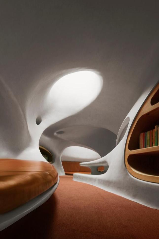 Thư viện nằm bên bờ biển có cấu trúc độc lạ, có một không hai ảnh 11