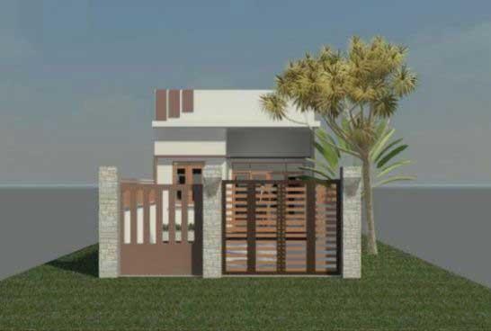 Có ngay căn nhà đẹp như mơ với chi phí chưa tới 400 triệu đồng ảnh 1