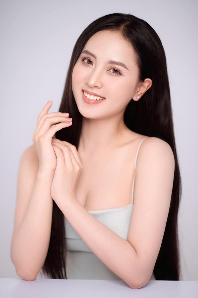 Nhan sắc ngọt ngào của người đẹp Nghệ An hai lần dự thi Hoa hậu Việt Nam ảnh 1