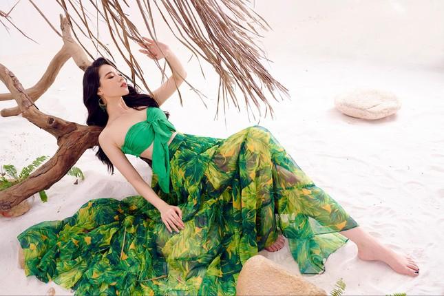 Lần hiếm hoi người đẹp biển Nguyễn Hoàng Bảo Châu khoe ảnh bikini cực gợi cảm ảnh 8