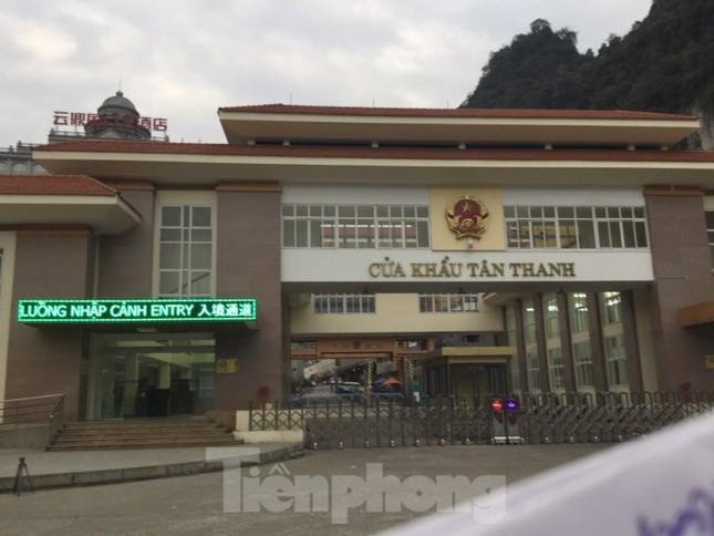 Tạm dừng thông quan hàng hóa qua cửa khẩu Lạng Sơn ảnh 2