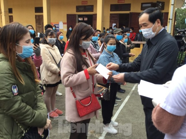 Hết thời hạn, 120 người rời khu cách ly Quân đội ở Lạng Sơn ảnh 7