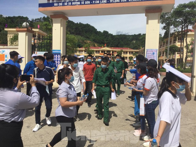 Sắc xanh tươi trẻ kỳ thi tốt nghiệp THPT ở xứ Lạng ảnh 2