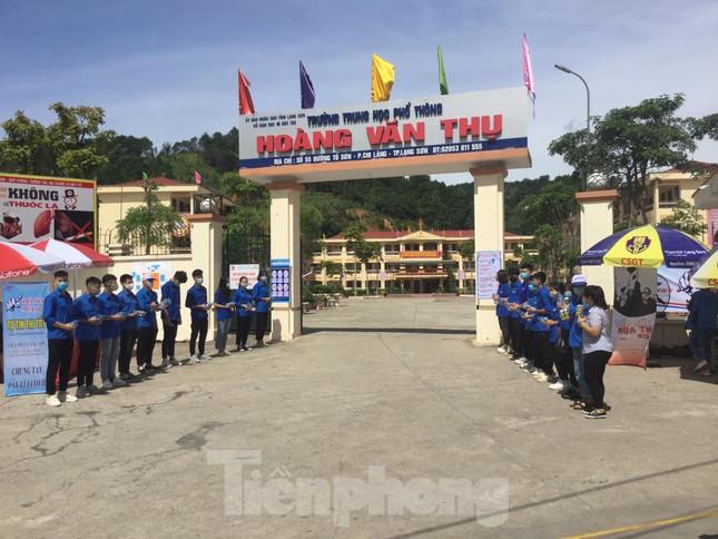 Sắc xanh tươi trẻ kỳ thi tốt nghiệp THPT ở xứ Lạng ảnh 5