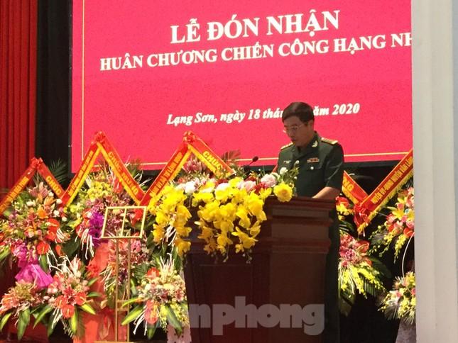 Bắt ma túy 'khủng', Biên phòng Lạng Sơn nhận huân chương Chiến công ảnh 2
