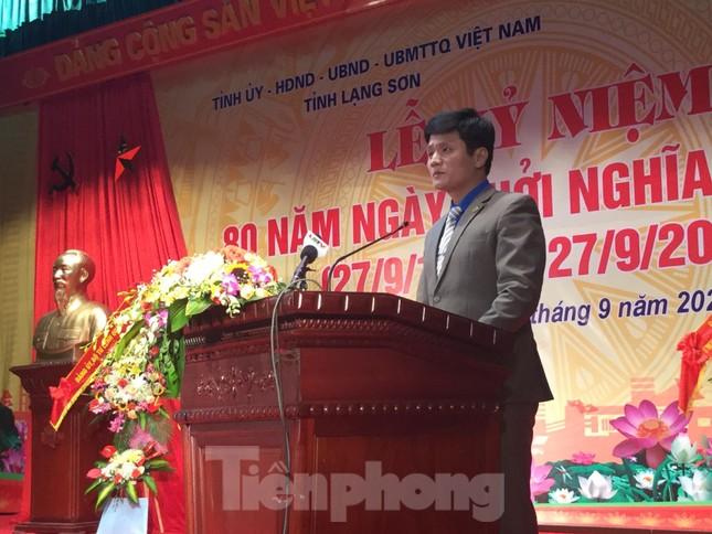 Lạng Sơn: Lễ kỷ niệm 80 năm khởi nghĩa Bắc Sơn ảnh 3