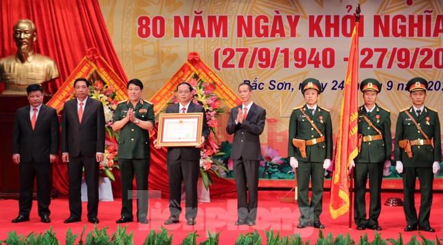 Lạng Sơn: Lễ kỷ niệm 80 năm khởi nghĩa Bắc Sơn ảnh 1