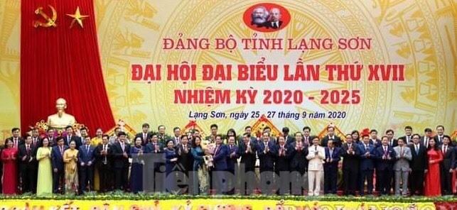 Đồng chí Lâm Thị Phương Thanh tái cử Bí thư Tỉnh ủy Lạng Sơn ảnh 1