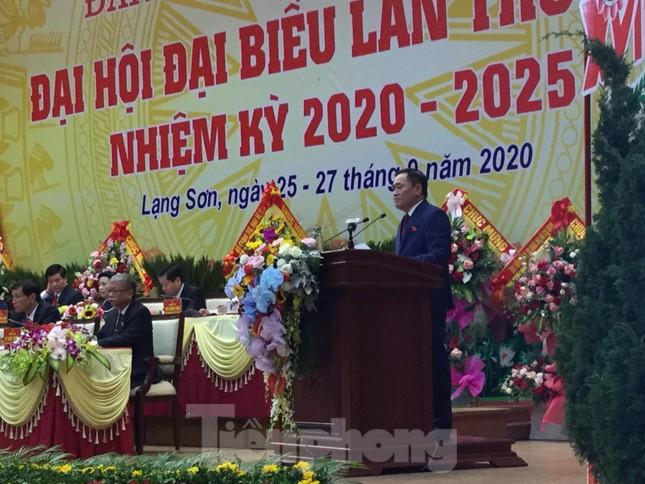Trưởng ban tổ chức Trung ương chỉ đạo Đại hội Đảng bộ Lạng Sơn ảnh 3
