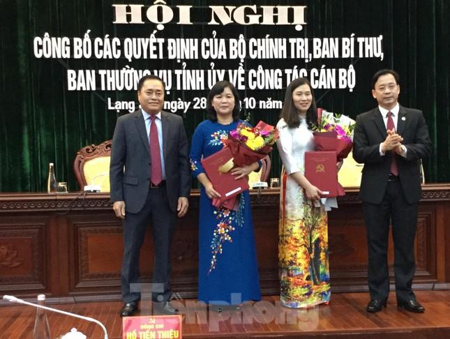 Luân chuyển, bổ nhiệm nhiều lãnh đạo tỉnh Lạng Sơn ảnh 1