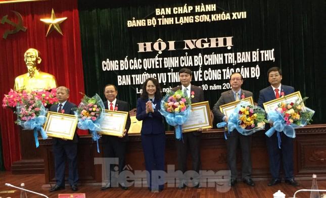 Luân chuyển, bổ nhiệm nhiều lãnh đạo tỉnh Lạng Sơn ảnh 2