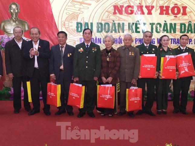 Phó Thủ tướng Trương Hòa Bình dự ngày hội đoàn kết toàn dân ở Lạng Sơn ảnh 2