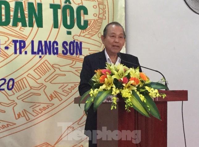 Phó Thủ tướng Trương Hòa Bình dự ngày hội đoàn kết toàn dân ở Lạng Sơn ảnh 4