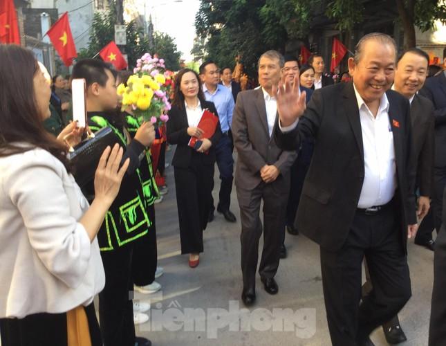 Phó Thủ tướng Trương Hòa Bình dự ngày hội đoàn kết toàn dân ở Lạng Sơn ảnh 1