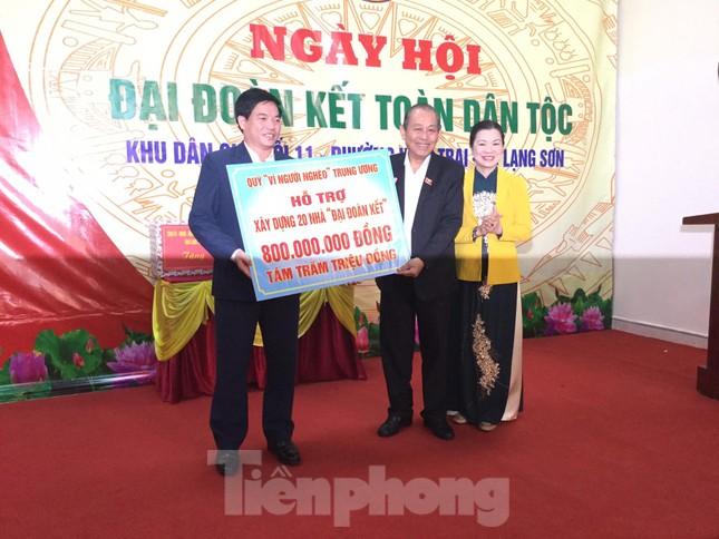 Phó Thủ tướng Trương Hòa Bình dự ngày hội đoàn kết toàn dân ở Lạng Sơn ảnh 3