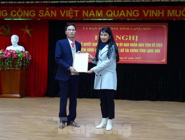Bổ nhiệm Phó giám đốc Sở Tài chính, Giao thông vận tải Lạng Sơn ảnh 1