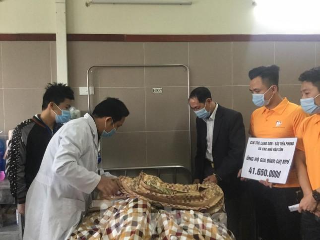 Hỗ trợ gia đình cháu bé 8 tuổi tai nạn thương tâm ở Lạng Sơn ảnh 3